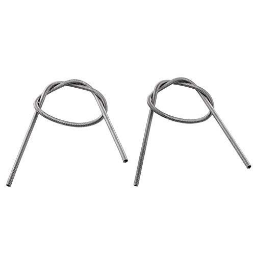 2 piezas AC 220V 1500W Hornos Hornos Fundición Elemento calefactor Bobina Alambre de alta resistencia