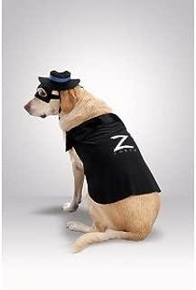 Zorro Dog Costume - Large 18