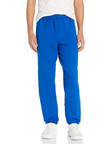 Hanes ComfortBlend Fleece Pant p650, Deep Royal, Large