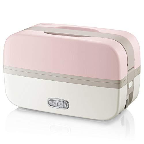 JINSE 220 V draagbare rijstkoker mini keuken rijstkoker dubbele lunchbox verwarming hitte om hete rijst te besparen
