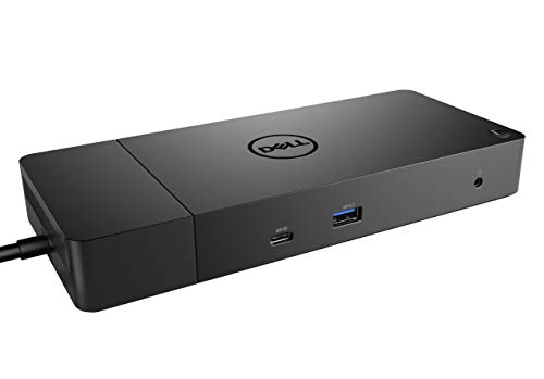Dell WD19 180W Docking Station (130W Power Delivery) USB-C, HDMI, Dual DisplayPort, Black