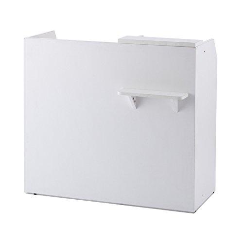 R・Fヤマカワ RF レジカウンター ワイド カラー:ホワイト W1099×D476×H1000mm RFRGCW-WH