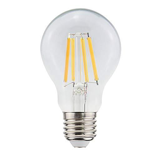proventa® LED-Birne mit Dämmerungssensor | Automatisches Einschalten bei Dämmerung | 4 Filament-Glühfäden | Glaskörper | 8 Watt | 806 Lumen | Abstrahlwinkel 360°