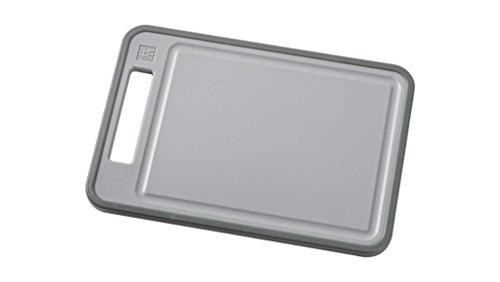 Zwilling Plastic Chopping Board, Grey, 29 x 20 x 1.3 cm