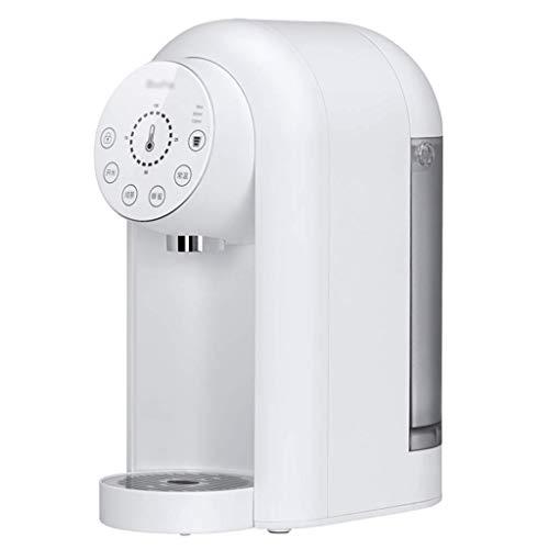 KTDT Distributeur d'eau chaude, distributeur d'eau chaude Portable/contrôle de la température, adapté aux chambres, dortoirs, Bureaux, cafés, Noir, Blanc