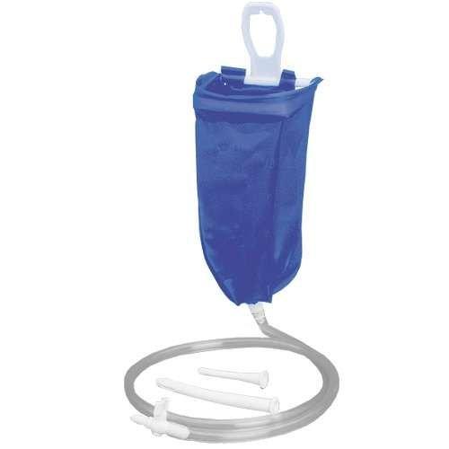 Irrigator für die Reise, Komplett, 2 Liter - Klistier Darmspülung Irrigation Komplettset
