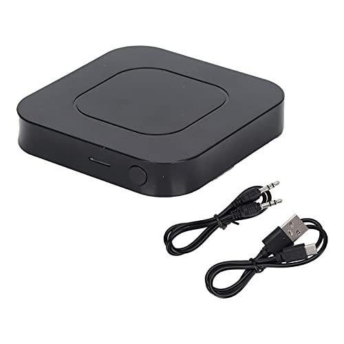 Receptor de transmisor Bluetooth 5.0, AUX inalámbrico 2 en 1 y Adaptador de conector de audio de 3.5 mm, Transmisor BT para TV / Reproductor de CD / Estéreo doméstico, Receptor BT para teléfono / Alta
