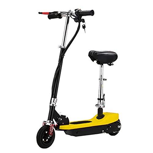 XXXD Vespas de viaje de corta distancia de moda, vespas adultas y jóvenes, Scooters eléctricos de dos ruedas para satisfacer las necesidades diarias de desplazamiento amarillo