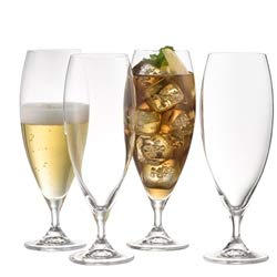 Galway Living Clarity Beer/Ice Tea Glasses - Set of 4