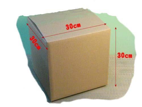 梱包用ダンボール箱(中)段ボール箱{10枚単位}約幅30cmx奥30cmx高さ30cm