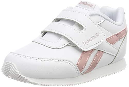 Reebok Royal Cljog 2 Kc, Mädchen Traillaufschuhe, Mehrfarbig (Metallic / White / Pink 000), 21 EU
