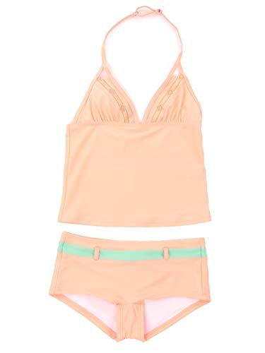 Brunotti Bikini Tankini Beachwear badmode Panty oranje nekhouder Salla maat 152
