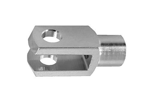 5 Stück - Gabelkopf - 10x20 - M10