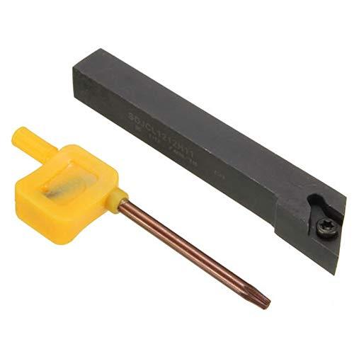 Zubehör 12 x100mm SDJCL1212H11 Index Externe Lathe-Drehwerkzeug-Halter for DCMT11T3 / 04 Blatt Zubehör
