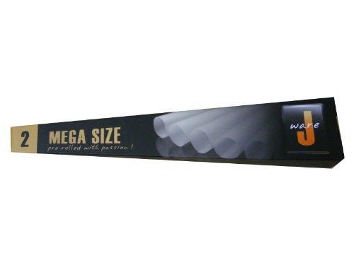 2Stück Mega Größe Pre gerollte Papier Rauchen Zapfen
