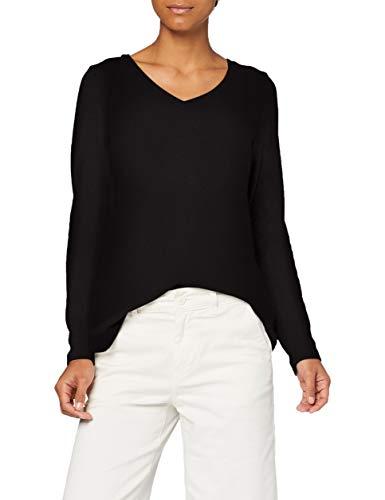 Naf Naf Odetto Ml Camiseta, Noir 625, L para Mujer