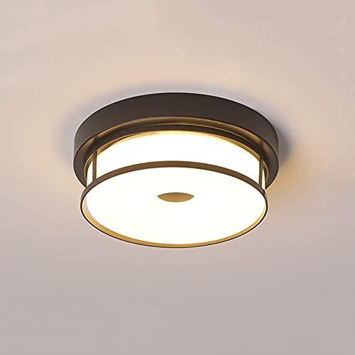 LXIANG Lámparas de techo para espacios pequeños, lámparas de techo LED para balcones, luces para pasillos de entrada, pasillos, pasillos, cocinas, baños, restaurantes y otras lámparas para espacios pe