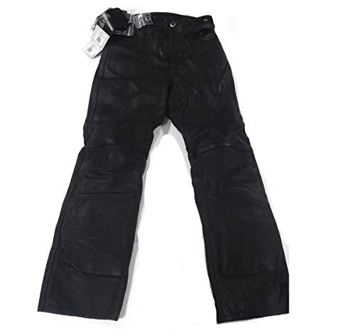 Pantalon Nelson Cuir Noir Femme Taille 48