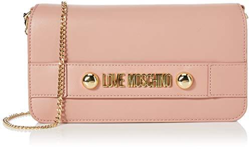 Love Moschino Damen Borsa Small Grain Pu Clutch, Pink (Cipria), 14x26x3 Centimeters