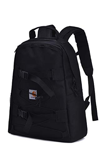 Carhartts Backpack Trade Series Backpack Unisex Casual Daypack School Bag Travel Bag (Black)