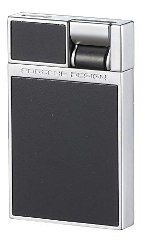 Porsche Design Heber Flat Torch Jet Flame Cigar Lighter (Matte Black)