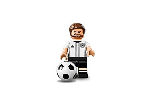 LEGO - Minifigurasde fútbol de la DFB alemana - Shkodran Mustafi No.2 (71014)