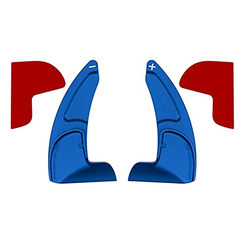 HMEILI Car Shift Paddle Trim Fit For Dodge Challenger Fit For Jeep (Color : Blue)