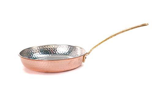 Erotto Padella orientale in rame – Padella in rame – Padella per uova – Padella in rame – Copper Pan – (Ø19)