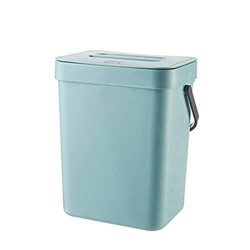 Yusea Seau à déchets de cuisine rectangulaire à suspendre