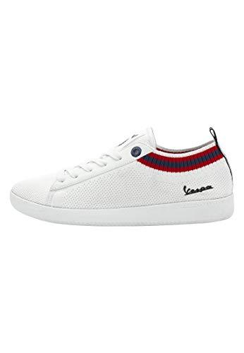Vespa - Sneakers Bassa Pop con Lacci, per Uomo e Donna (EU 38)