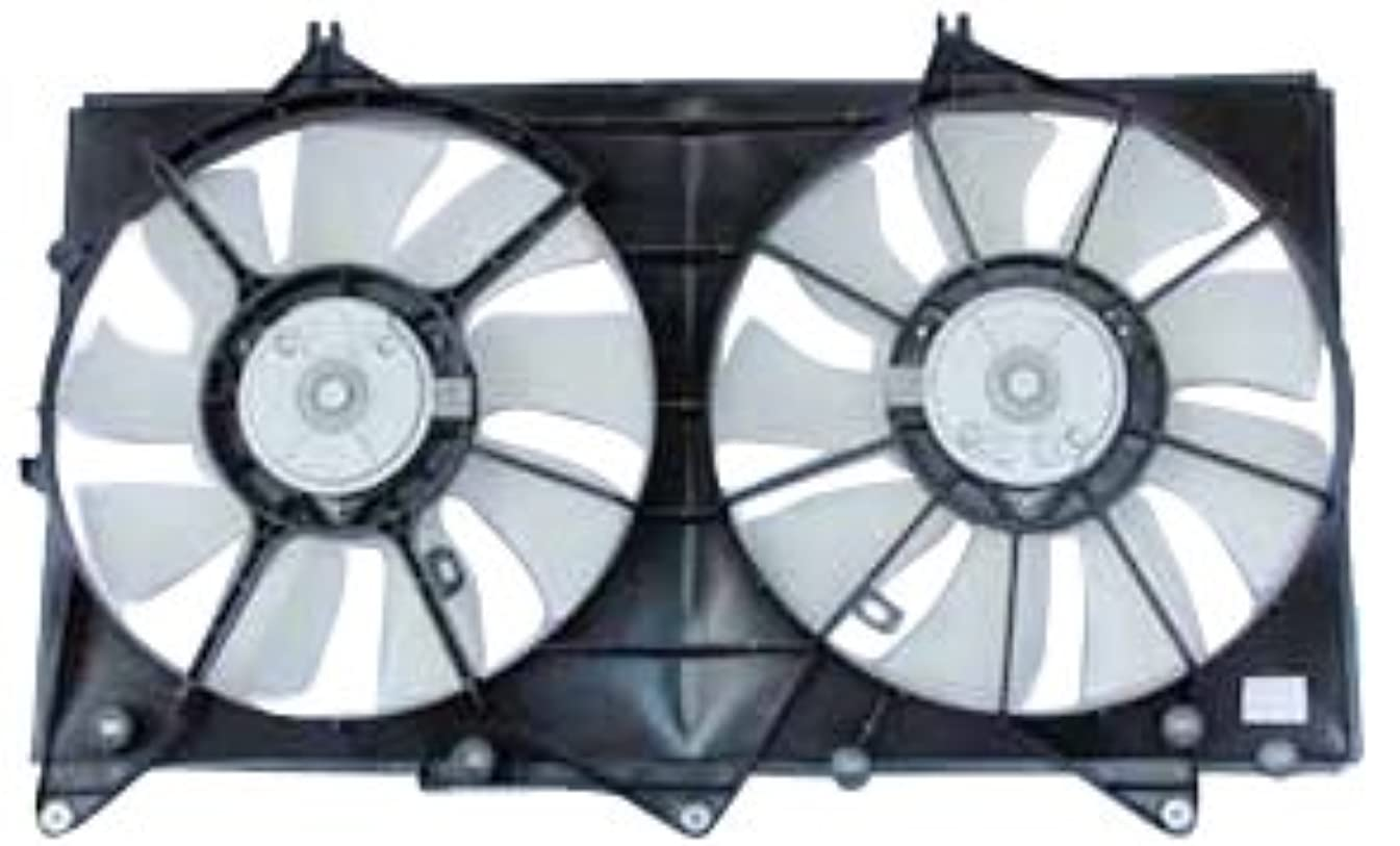 TYC 620870 Lexus/Toyota Replacement Radiator/Condenser Cooling Fan Assembly