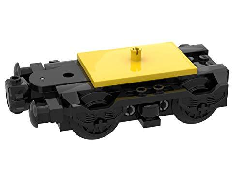 LEGO Custom City Zug Motor Bogey mit Puffer und Räder für Wagen 60051
