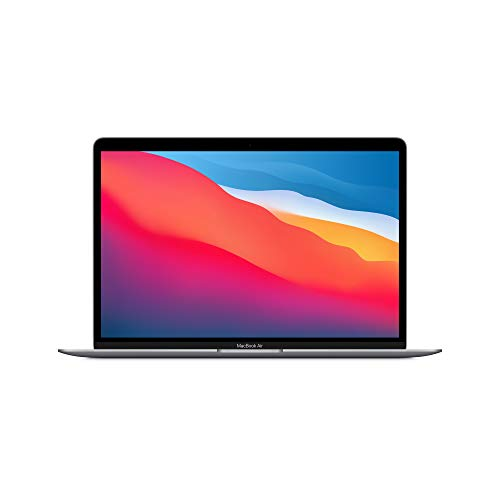 Nuevo Apple MacBook Air (de 13 pulgadas, Chip M1 de Apple con CPU de ocho núcleos y GPU de siete núcleos, 8 GB RAM, 256 GB SSD) - Gris espacial