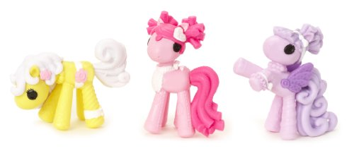Lalaloopsy Cup Cake Ponies, 3-Pack