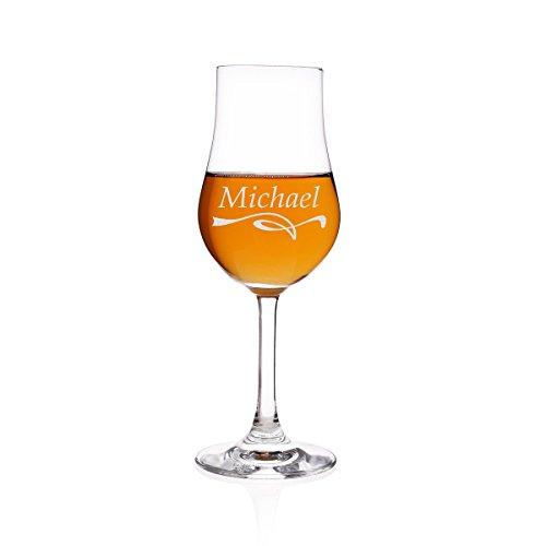 polar-effekt Stölzle Lausitz Malt Whisky 185 ml The Glencairn Glass Destillatglas Classic mit Namens und Motiv-Gravur - Geschenkidee zum Geburtstag