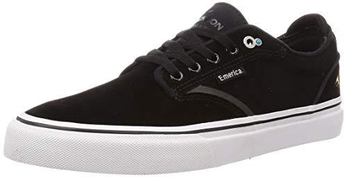 Emerica Dickson, Chaussure de Skate Homme, Noir, Blanc, Or, 43 EU