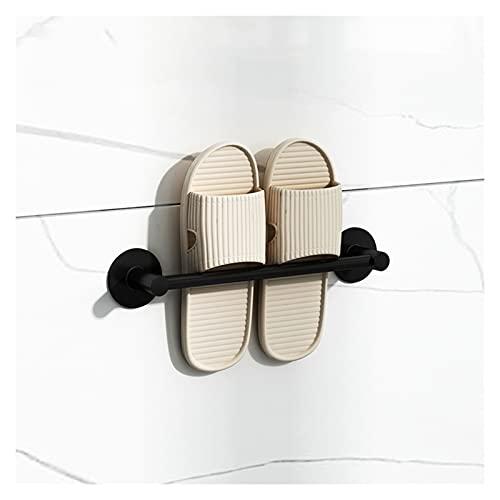 Montado En La Pared Zapatero Punch-libre Aluminio De Aviación Estante Zapatilla De Entrada Impermeable Estante De Almacenamiento De Cocina para Casa Zaguán Sala De Estar Cuarto De Baño, 3 Tamaños LSSB