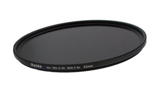 Slim Graufilter PRO II MC (mehrschichtvergütet) ND0.9 (8X) 82mm - Schlanke Fassung + Cap mit Innengriff