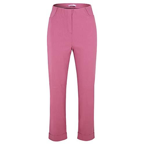Stehmann Igor-680, Sportive 7/8 Damenhose, in vielen weiteren Farben erhaeltlich (40, Fuchsia pink)