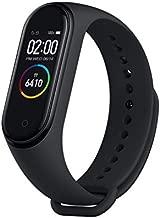 MI Xiaomi Band 4 Smart Bracelet Smartband Heart Rate Monitor Sleep Monitor Fitness Tracker 3 Color AMOLED Screen 5ATM Waterproof Band4 Black Global Version