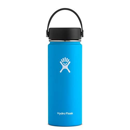Hydro Flask Unisex– Erwachsene Wide Mouth Trinkflasche, blau, 532ml