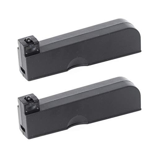 Airgunplace Airsoft Gear Parts Accessories 2pcs 30rd Mag Magazine MB02 MB03 MB07 MB10D MB11D VSR-10 Bolt Action