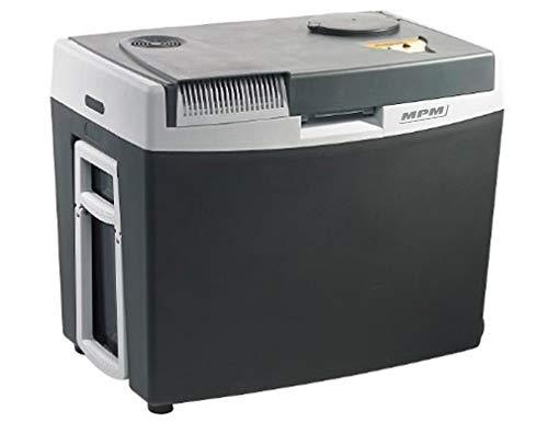 MPM MPM-34-CBM-06 Nevera portatil, 55 W, 34 litros, Polímero Libre de BPA, Gris