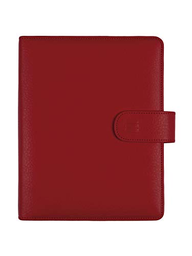Finocam – Diary 2022 1 Day Page, from January 2022 to December 2022 (12 months) 1000 – 155 x 215 mm Open Leo Organiser Red Spanish