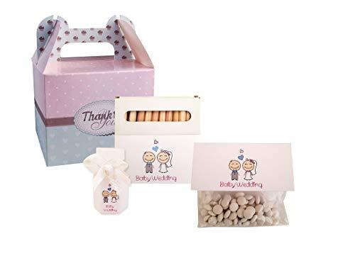 Irpot Kit 10 Baby Wedding Bag Fai da Te per Bambini