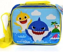 Baby Shark Insulated lunch bag