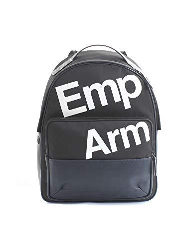 Emporio Armani Nylon Rucksack Herren Tasche Laptop Schulrucksack blu