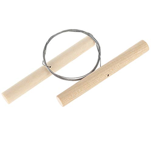 Youngy Steel Sickle, Wire Clay Cutter for Sculpey Plasticine Ceramic Dough Pottery Cheese Tool
