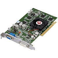 ATI FireGL T2-128 RoHS Grafikkarte AGP 128 MB FGL 9600 DDR DVI-I