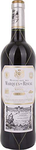 Marques De Riscal Reserva - Vino Tinto, Botella de 0.75 L. D.O. Rioja